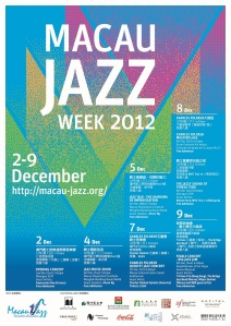 Macau Jazz Week Poster